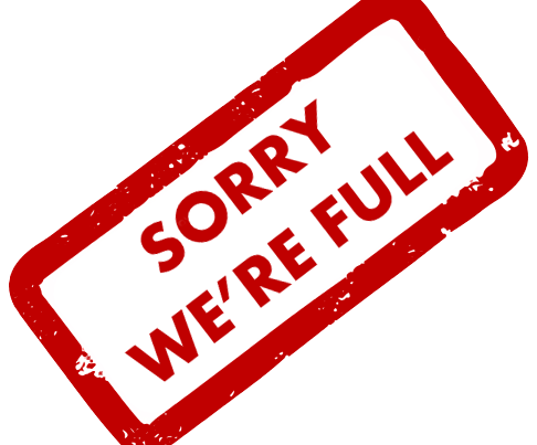 Sorry we are full!